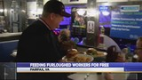 Feeding furloughed workers for free