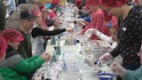 Thousands of meals packaged for Rise Against Hunger organizatoin