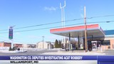 Washington County Sheriff's Deputies investigating robbery at AC&T convenience store