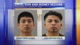 Maryland State Police seize drugs, guns and thousands of dollars in traffic stop