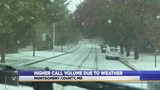 Montgomery County officials talk about call volume during extreme weather conditions