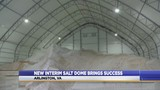 Arlington's roads are well taken care of with new, interim salt dome