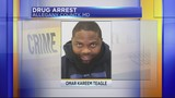 Man arrested with 30 pounds of marijuana