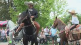 Apple Blossom festival goers stay dry at Grand Feature parade