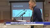 High school seniors present research to board of supervisors