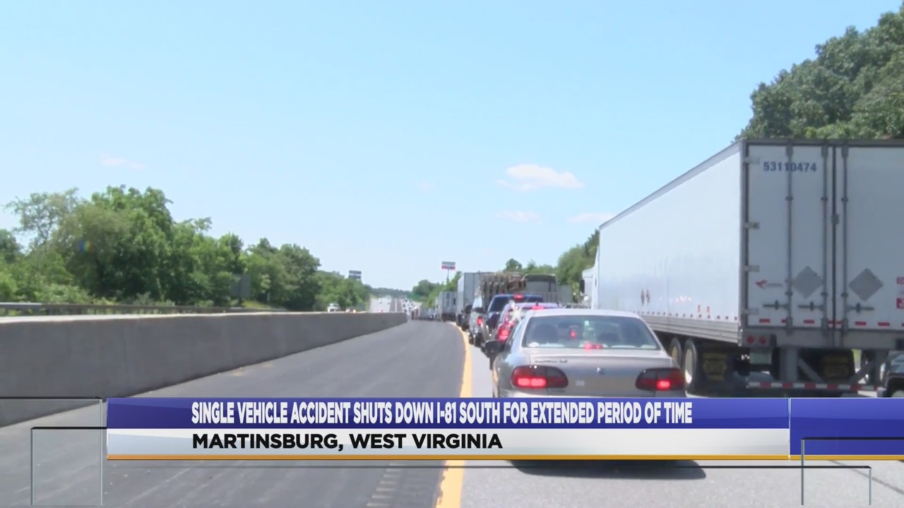 I-81 south accident